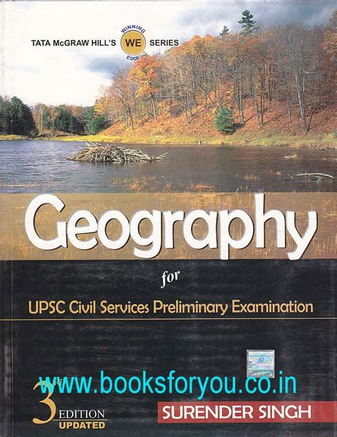 reference books geography civil services geography for upsc civil services preliminary examination