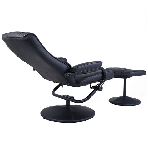 leather swivel chair with ottoman leather recliner chair swivel armchair lounge seat with