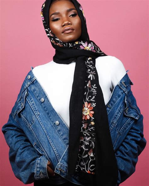 Abaya Hafsah turban styles floral scarf from elora collection