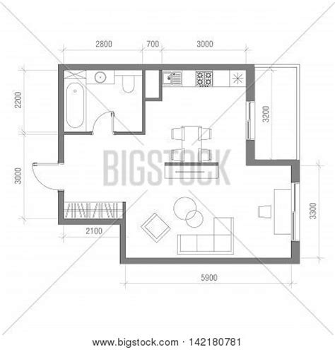 draw room dimensions sofa top view images stock photos illustrations bigstock