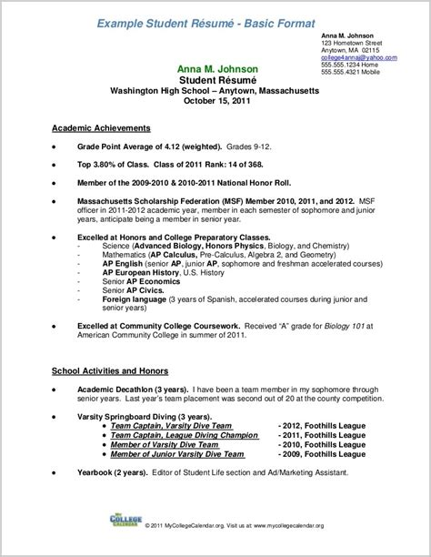 outline of resume outline of a resume for a resume resume exles