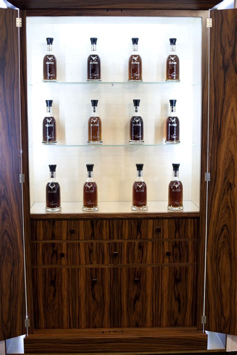 whiskey cabinet in santos rosewood our wood your home