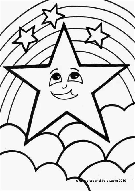 Estrellas para imprimir colorear y recortar | Material