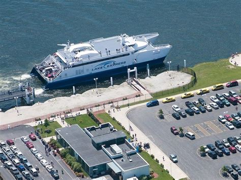 boat ride from chicago to milwaukee lake express collects bikes in exchange for ferry tickets