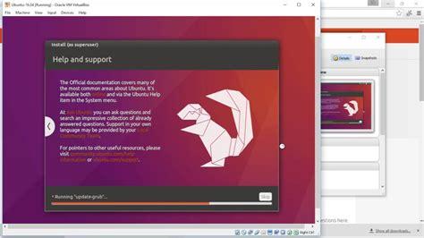install windows 10 with ubuntu install ubuntu 16 04 lts on virtualbox windows 10 youtube