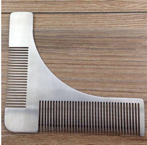 goatee trimming template gentleman beard trim template hair cut hair molding
