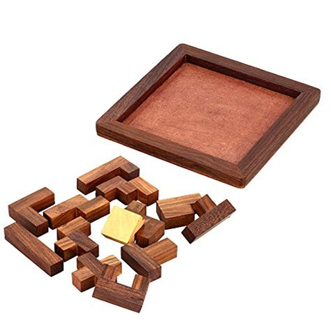 Handmade Wooden Puzzles - handmade indian wood jigsaw puzzle wooden toys for