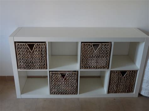 black bookcase with baskets bobsrugby