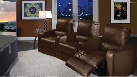 home theatre sofa sets brown sofa set in home theater room wallpaper