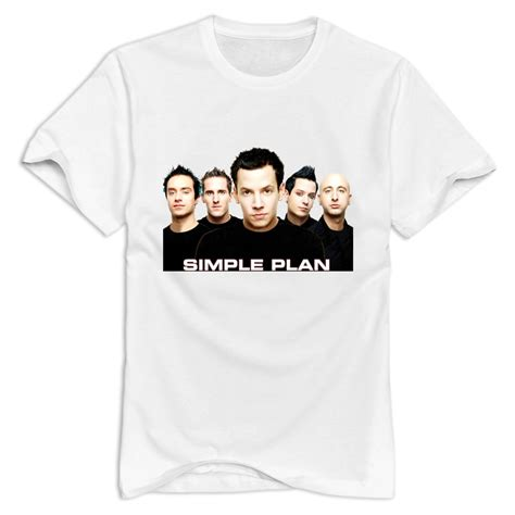 Simple Plan Tshirt simple plan s t shirt brand cotton s t shirt cheap wholesale in t shirts from s