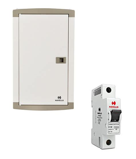 Laris Box Mcb 1 Pole buy havells 8 way tp n distribution board with free 16a single pole mcb at low price in