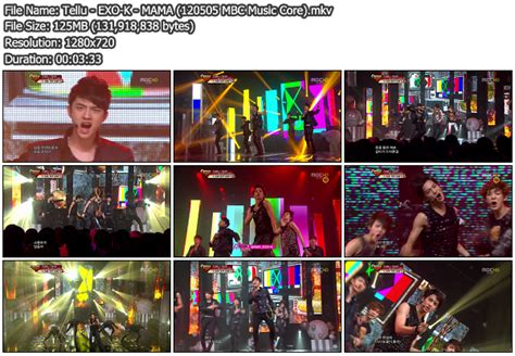 download mp3 exo k mama download perf exo k mama mbc music core 120505