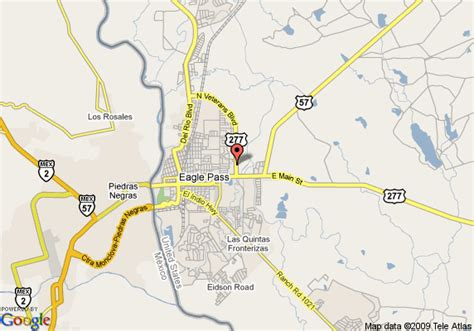 where is eagle pass texas on a map map of inn express hotel suites eagle pass eagle pass
