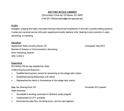 Sales Resume Template Word by Customer Service Resume Template 11 Free Word Excel Pdf Format Free Premium