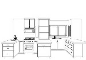 How To Design Kitchen Cabinets Layout Kitchen Design 7 From Sketch It Clipboard In Naples Fl 34108