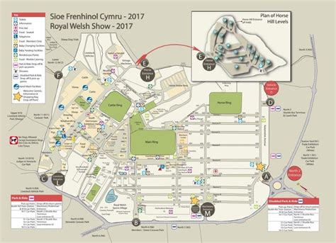 show a map rwas royal show map