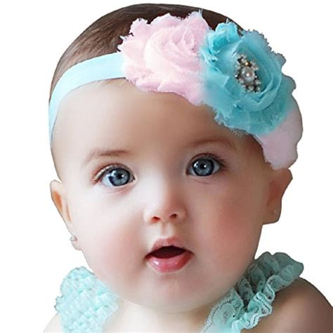adorable girls headband of ivory silk flowers great for beautiful babies with headbands beautiful babies with