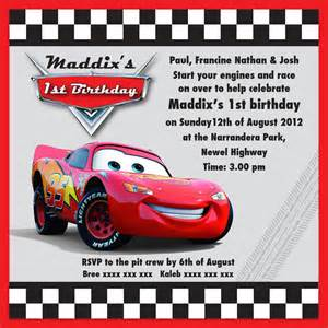 Lighting Cars Free Lightning Mcqueen Invitations Template Free Autos Weblog