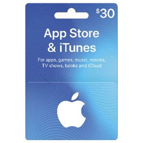 Trade Apple Store Gift Card For Itunes - apple itunes card 30 officeworks