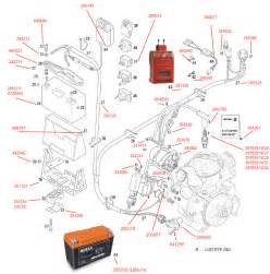 ignition unit e starter battery electrics