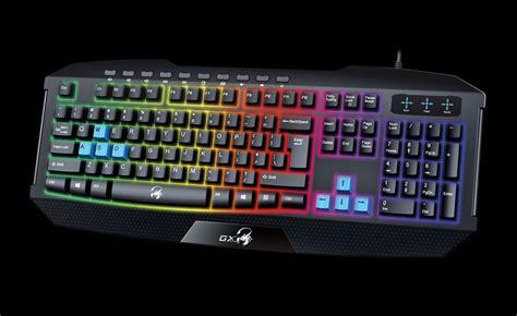 Genius Scorpion K220 Keyboard Gaming genius scorpion k215 gaming keyboard with backlight multimedia and water resistant