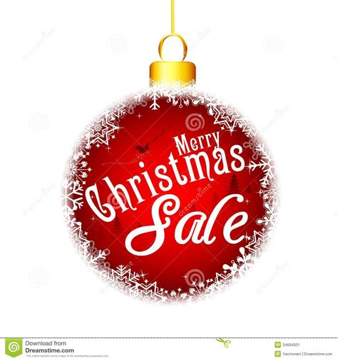 christmas sale stock image image 34684501