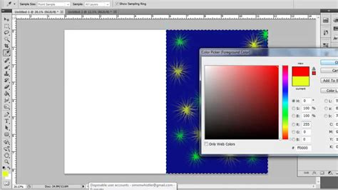 make layout on photoshop cs5 how to create greeting card in photoshop cs5 youtube