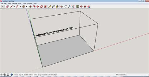 sketchup make 3d printing blog