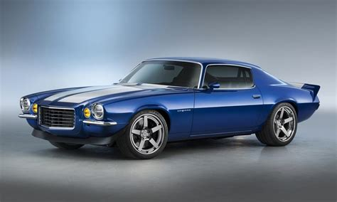 chevrolet camaro supercharged this supercharged 1970 chevrolet camaro restomod is just a