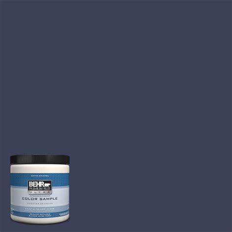 Behr Interior Satin Enamel by Behr Premium Plus Ultra 8 Oz T16 10 Blue Vortex Interior