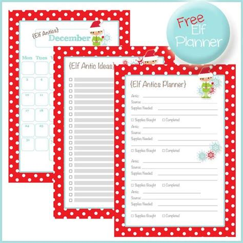 printable elf on the shelf planner free elf on a shelf planner this is the only way i will
