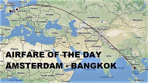 airfare of the day airways ams bkk usd 1567 rt business class loyaltylobby