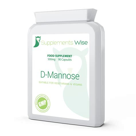 supplement d mannose d mannose capsules 180 x 500mg uti health sexual health