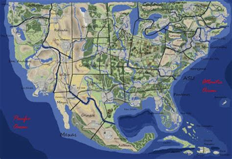 map of the week: grand theft auto