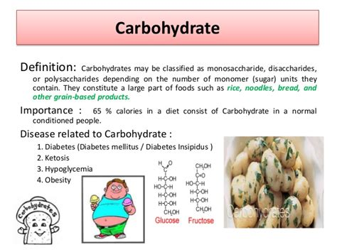 carbohydrates definition and importance importance of nutrition cmoh bankura