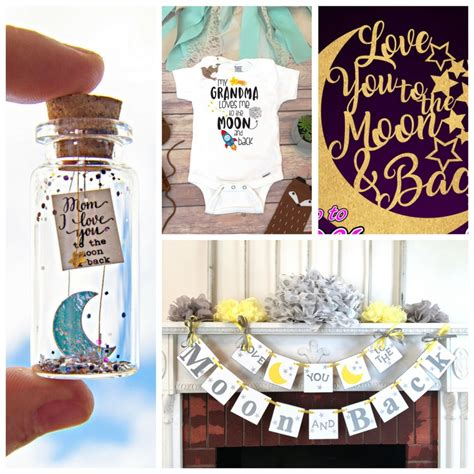 Moon And Baby Shower Ideas by You To The Moon And Back Baby Shower Theme Board