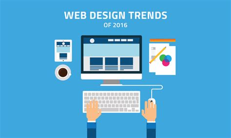7 design trends from the last year with infographic 7 web design trends of 2016 ilmosys blog