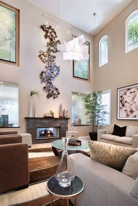 high room decor for high ceiling rooms and decorating ideas for them