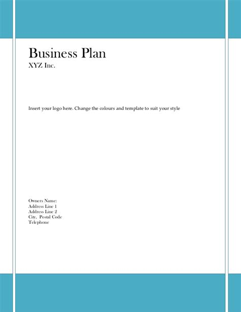 28 growthink business plan template free growthink