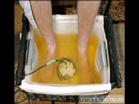 Detox Bath Los Angeles by Ionic Detoxing Foot Bath Treatment At Le Retreat