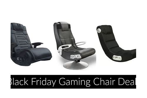 gaming chair deals black friday