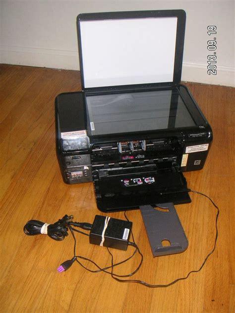 Printer Hp C4680 hp photosmart c4680 inkjet printer print scan copy works w noisy cl