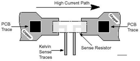 kelvin sense resistors kelvin connected electrowiki