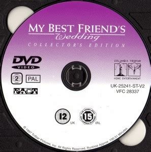 My Best Friend's Wedding (2007) CE WS R2   Movie DVD   CD