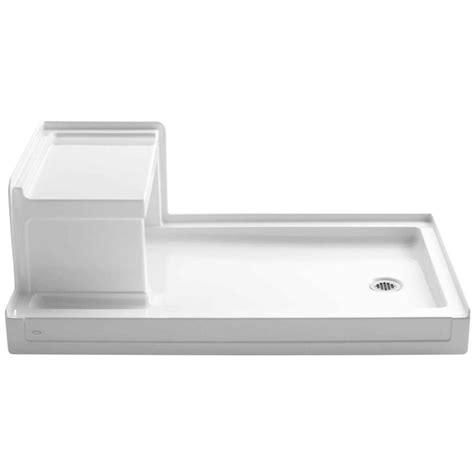 Kohler Shower Base by Shop Kohler Tresham White Acrylic Shower Base Common 36