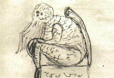 H Drawing by H P Lovecraft S Drawings Cthulhu Other