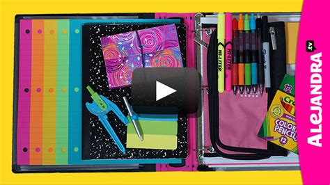 lifestyle organizing a new way to think video back to school organization tips how to organize