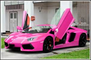 Pink Sparkly Lamborghini Lamborghini Aventador Girly Cars For Drivers