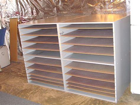 Mat Storage by Used Mat Board Storage Bins Frame Shop Mat Board Bins