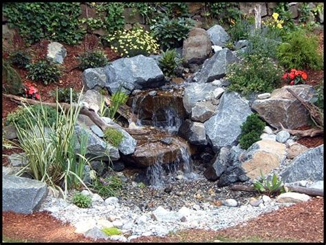 aquascape pondless waterfall disappearing pondless waterfall ideas northern new